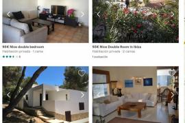Las webs continúan anunciando miles de alquileres ilegales en Ibiza pese a la nueva ley