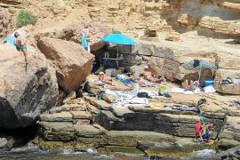 La zona de Punta Galera, el paraíso de la venta ambulante