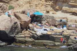 """Un """"chiringuito de mojitos"""" en Punta Galera"""