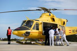 Dos heridos, uno grave, en un accidente de moto en Formentera