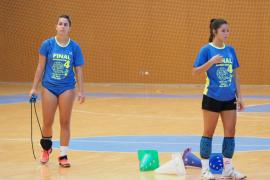 González y Campos ya se entrenaron ayer con el Puchi