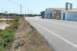 Una pareja resulta herida en un accidente de moto en Formentera
