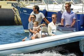 Jennifer Connelly y Paul Betanny, vacaciones familiares en Formentera