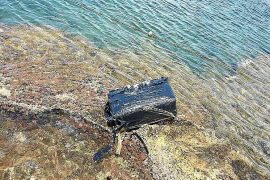 Encuentran un fardo de hachís de 25 kilos en Caló des Moro