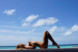 Alba Carrillo se desnuda en Instagram