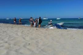 Fallece ahogado un hombre en la playa de Llevant, en Formentera