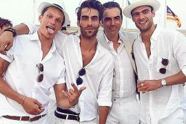 Jon Kortajarena, de boda en Mallorca