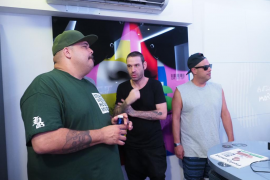 La élite de los dj's se reúne en Ibiza Global Radio (Fotos: M. Sastre)