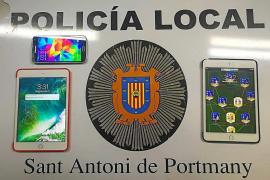 Detenido un motorista por conducir sin carné y borracho en Sant Antoni