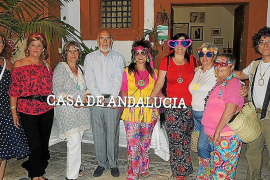 Fiesta de los Años 60 en la sede de la Casa de Andalucía