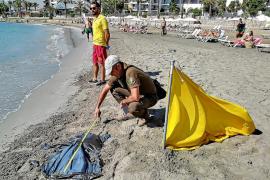 Protocolos de emergencias en ses Figueretes para ser una playa con clase