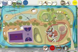 El parque infantil de Can Misses tendrá 3.500 m2 y zonas para niños de hasta 12 años