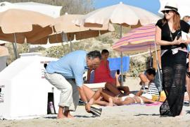 Bruce Springsteen, de vacaciones en las Pitiusas