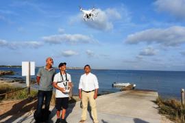 Formentera lucha contra la pesca ilegal con drones