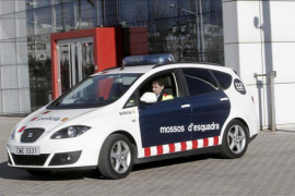detención joven mossos de esquadra