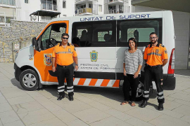 Sant Antoni adquiere un nuevo vehículo para Protección Civil