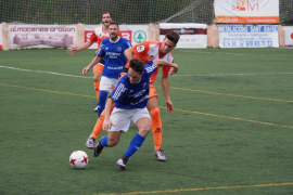 El San Rafael suma su segunda victoria consecutiva al imponerse por 2-1 al Platges de Calvià