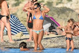 Gemma Mengual, de vacaciones familiares en Formentera