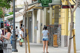 La cara y la cruz de la Ibiza peatonal