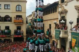 Un Sant Fèlix de '10' llena de espectacularidad la plaça de la Vila de Vilafranca del Penedès
