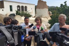 El PP denuncia la dejadez de los elementos patrimoniales de Ibiza
