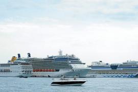 Tres gigantes del mar animan Vila