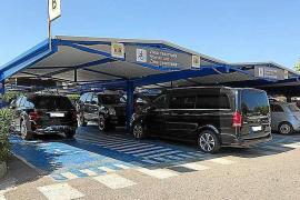 El parquin del aeropuerto de Ibiza es uno de los más caros del país