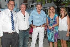 Encuentro del Majorca Daily Bulletin con sus colaboradores en el Palma Sport & Tennis Club