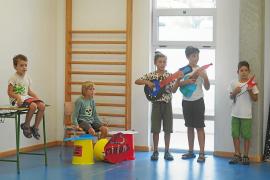 Los niños de Ibiza despiden el verano con música y mucha diversión