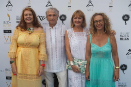 Ibiza se rinde a la figura de Ángela Molina