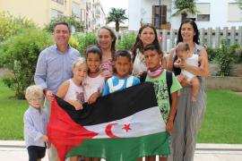 El Consell recibe a los niños saharauis acogidos por familias ibicencas