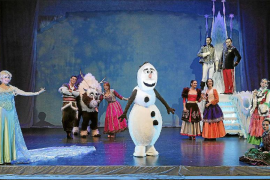 viajará de Mallorca a la Gran Vía deMadrid Una escena del espectáculo 'Frozen', de Rafel Brunet, que el próximo octubre instalar
