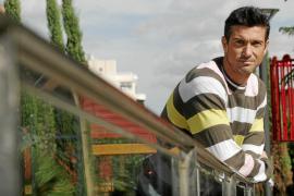 PALMA - ENTREVISTA AL JUGADOR DEL REAL MALLORCA, PEP LLUIS MARTI .