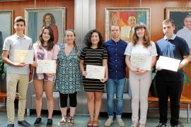 El Consell d'Eivissa premia a los estudiantes con mejores notas