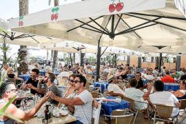 Los turistas extranjeros gastaron en julio 2.917 millones en Baleares, un 12% más