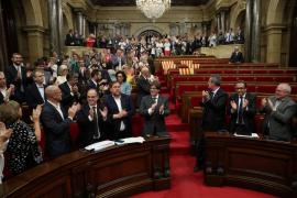 El Parlament aprueba la ley del referéndum
