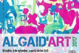 Ocho artistas pitiusos participan en la nueva edición de Algaid'art