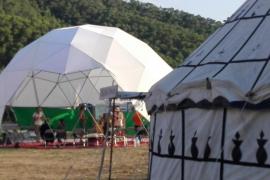 Santa Eulària detiene la actividad del circo de Cala Llonga