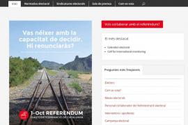 La Generalitat de Cataluña publica las normas para la votación en el referéndum