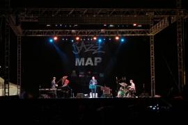 Conciertos del guitarrista Ximo Tébar y del trío MAP para la segunda jornada del Eivissa Jazz Festival (Fotos: Marcelo Sastre).
