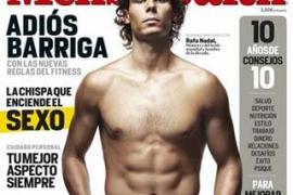 Rafa Nadal luce cuerpo en la revista Men's Health