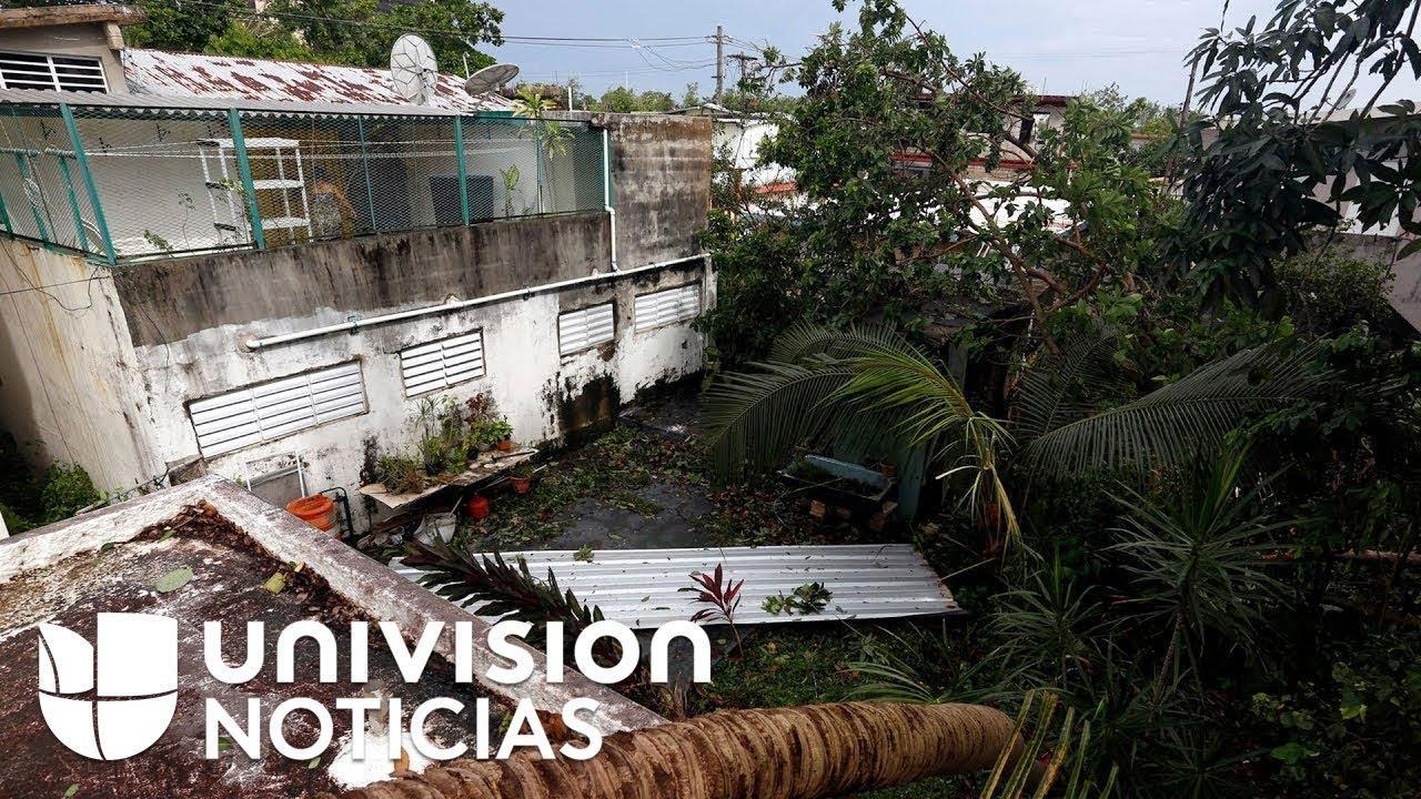 El huracán 'Irma' deja al menos diez muertos a su paso por el Caribe