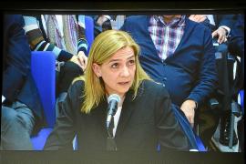 La infanta Cristina pide que la Audiencia le devuelva 771.000 euros por 'Nóos'