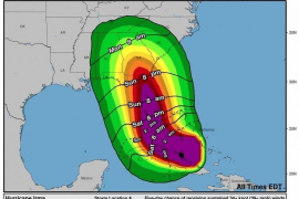 Fuertes ráfagas con tornados recorren el sur de Florida por el paso de 'Irma'