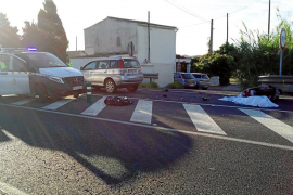 Un motorista muere en un choque en cadena con dos conductores positivos por droga en Sant Josep