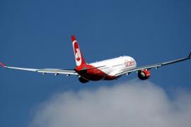 Air Berlin anuncia la cancelación de vuelos tras declararse enfermos sus pilotos