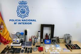Desarticulada en Ibiza una organización criminal dedicada al narcotráfico