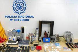 La Policía Nacional desarticula en Ibiza una banda que introducía y adulteraba cocaína