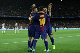 Champions League - FC Barcelona vs Juventus