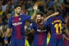 Messi anula a la 'Juve' e inspira al Barça